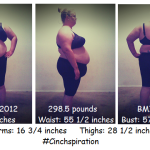 #Cinchspiration Initial Weigh-In & Measurements
