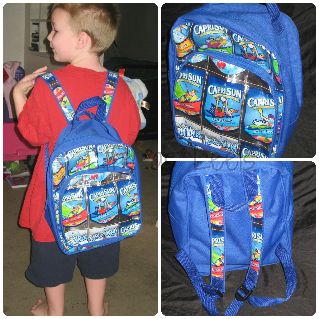 Capri Sun Backpack1 Exchanging Waste for Awesome Gifts with TerraCycle #NGgiftguide