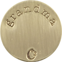 Grandma Gold Plate Origami Owl: The Perfect Personalized Holiday Gift #NGGiftGuide