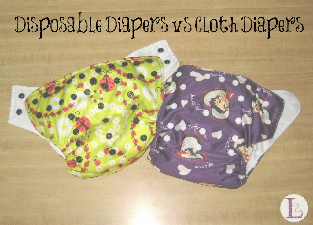 Disposable Diapers vs Cloth Diapers