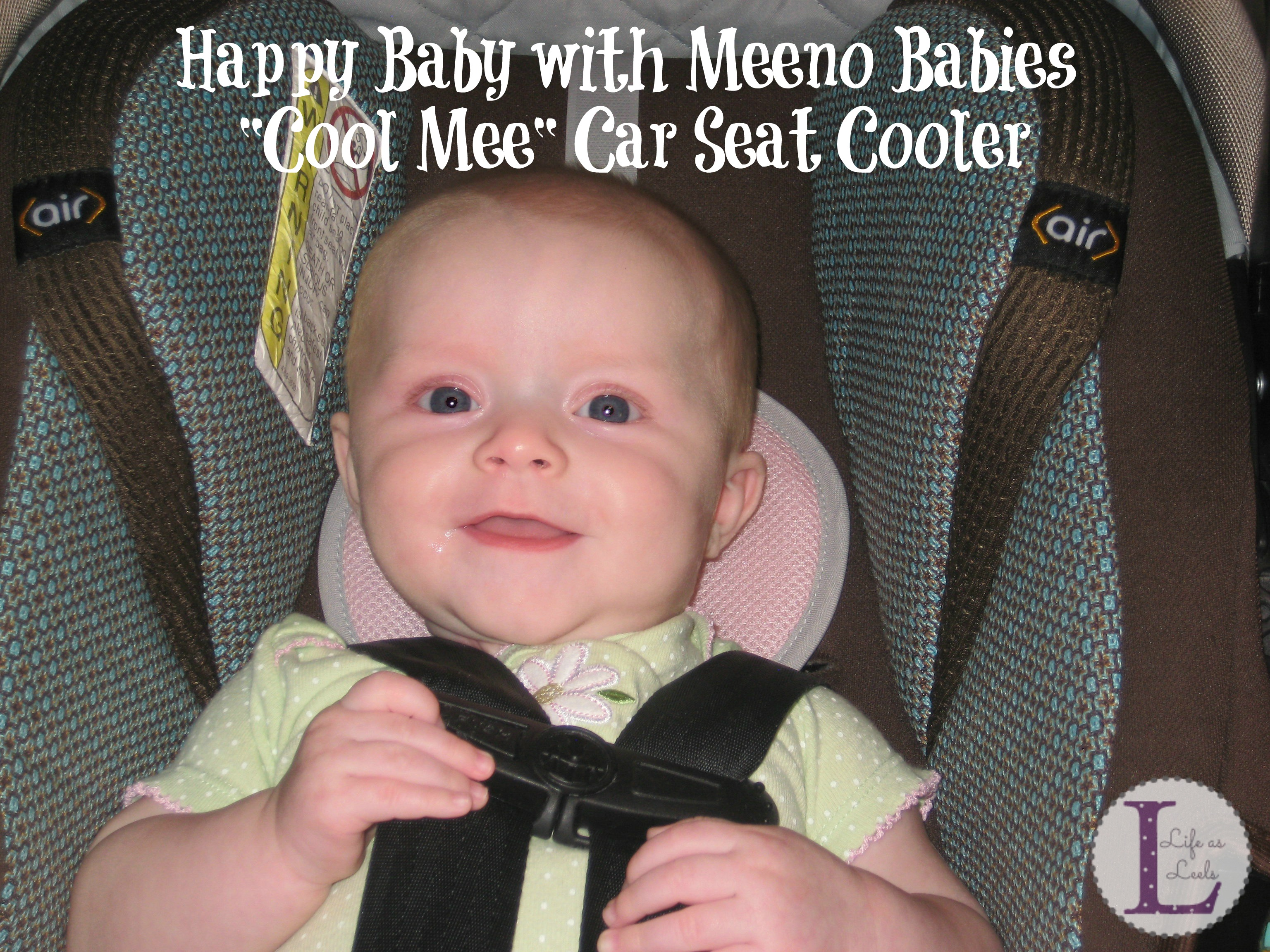 e41e97a65631 Keeping Cool with Meeno Babies Cool Mee Car Seat Liner  sp