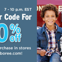 20% Coupon Code to Gymboree {Today ONLY}