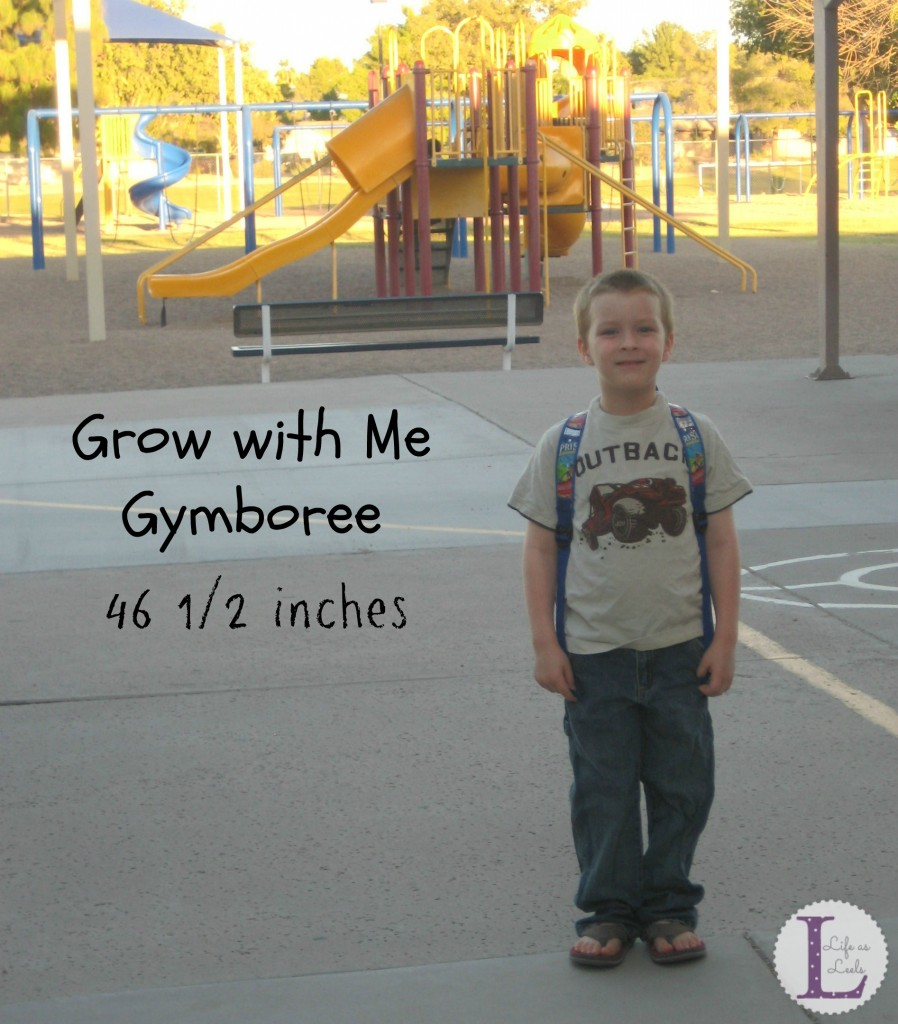 Grow with Me Gymboree