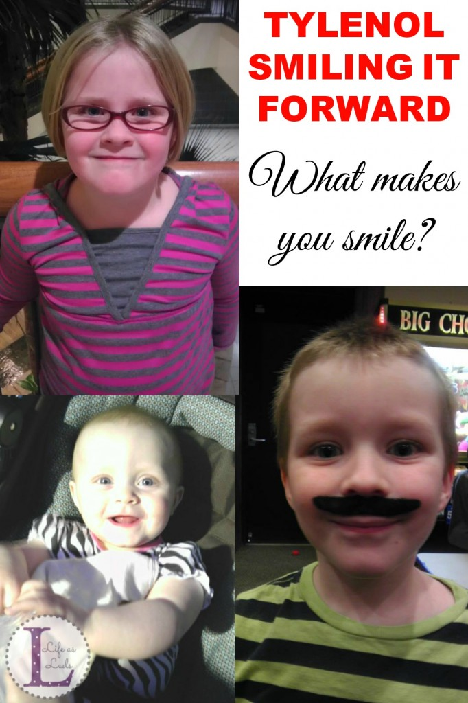 TYLENOL® SMILING IT FORWARD™ #SmilingItForward #sponsored