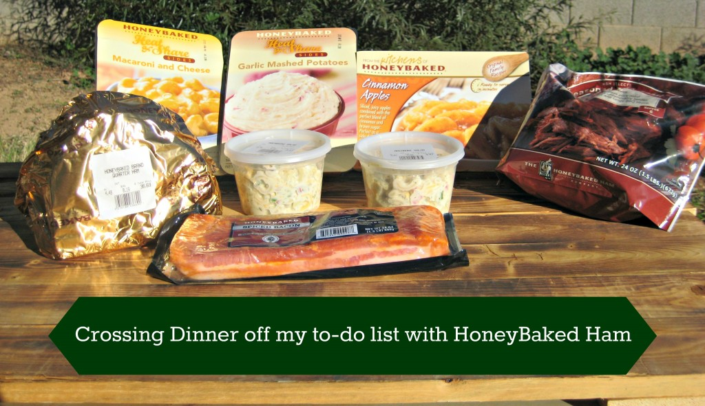Crossing Dinner off my to-do list with HoneyBaked Ham #MC #sponsored