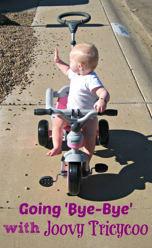 Going 'Bye-Bye' with Joovy Tricycoo #sponsored