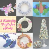 8 Butterfly Crafts for Spring