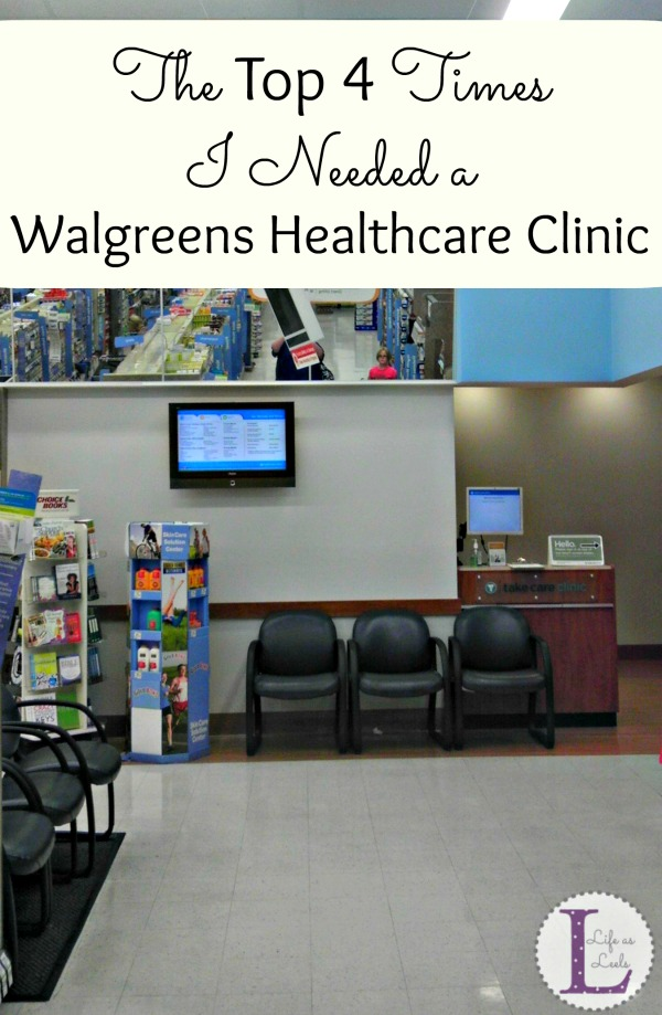 The Top 4 Times I Needed a Walgreens Healthcare Clinic #HealthcareClinic #CollectiveBias #shop