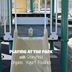 Playing at the Park with Stonyfield Organic Yogurt Pouches