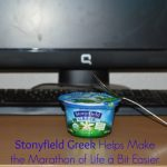 Stonyfield Greek Helps Make the Marathon of Life a Bit Easier