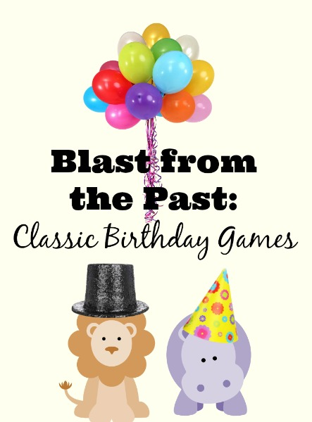 blast from the past of classic birthday games