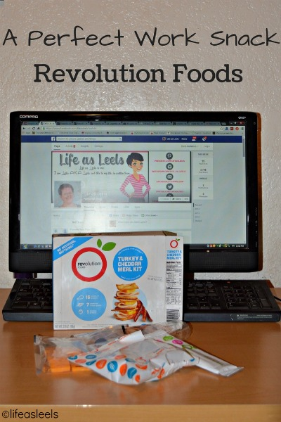 A Perfect Work Snack Revolution Foods #sponsored