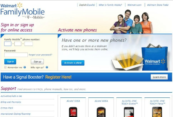 Activate your phone with Walmart #FamilyMobile #shop #cbias