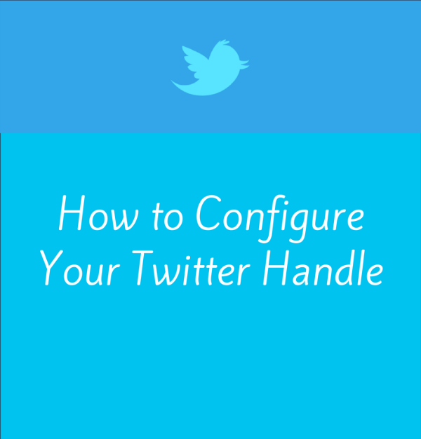 Learn How to Configure Your Twitter Handle #blogathon2
