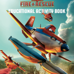 Smokey the Bear, National Parks, and Planes Fire and Rescue Educational Activity Book