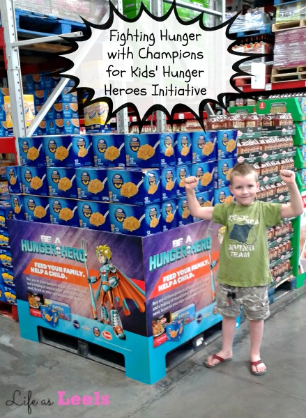 Fighting Hunger with Champions for Kids' Hunger Heroes Initiative #HungerHeroes #shop #cbias