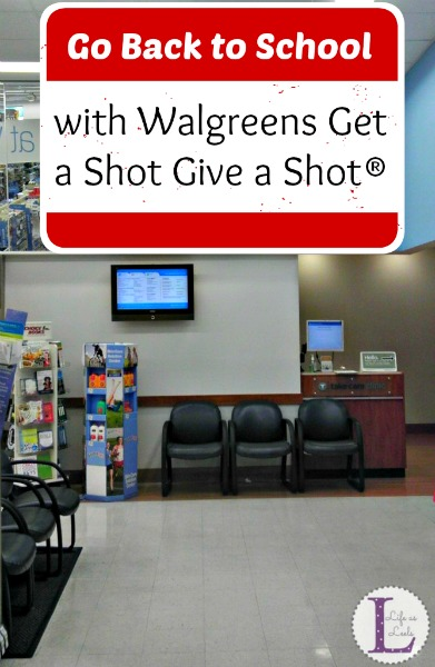 Go Back to School with Walgreens Get a Shot Give a Shot® #GiveaShot #CollectiveBias #shop
