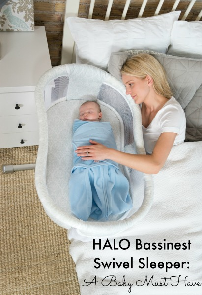 HALO Bassinest Swivel Sleeper A Baby Must Have
