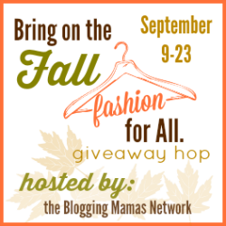 Bring on the Fall, Fashion for All Giveaway Hop