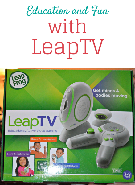 Education and Fun with LeapTV #LeapTV #MommyParties