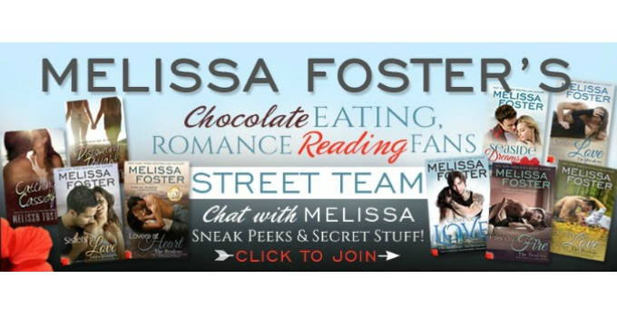 Melissa Foster's Street Team Giveaway