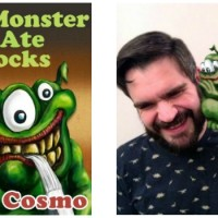 The Monster That Ate My Socks by A.J. Cosmo {Children's Book Review}