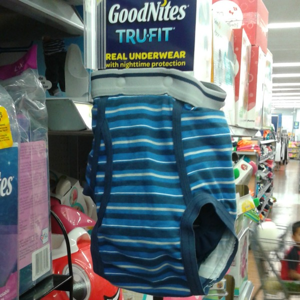 GoodNites TRU-FIT Real Underwear with Nightime Protection #WalmartTRUFIT #IC #ad