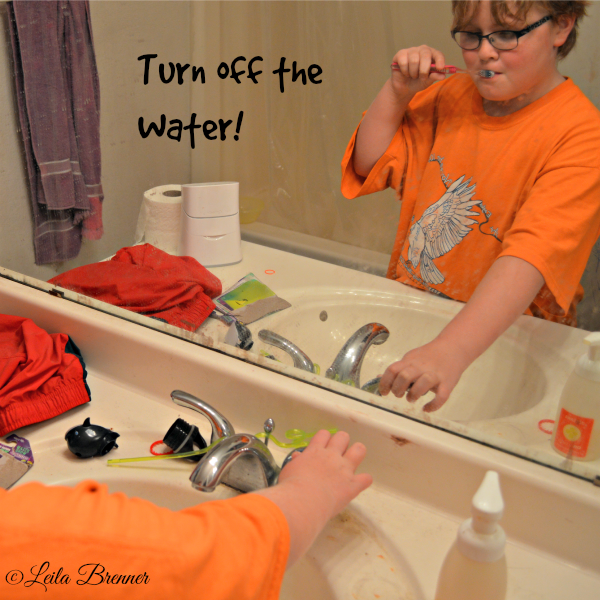 Turn off the water! #BringingInnovation #cbias #ad