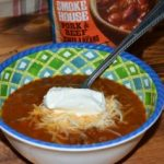 Chili Bar with Progresso Chili and Favorite Toppings