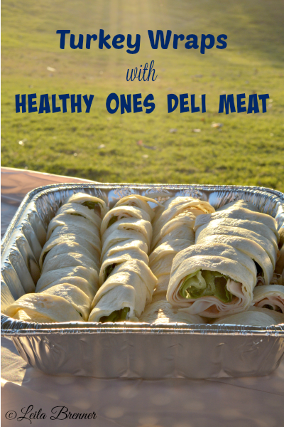 Turkey Wraps with Healthy Ones Deli Meat via Life as Leels #ad