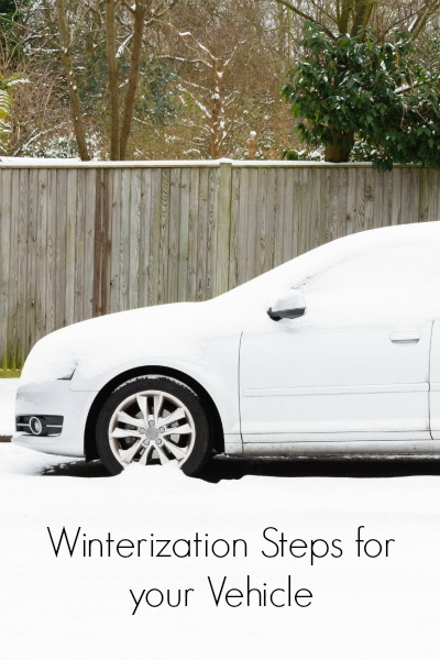 Winterization Steps for your Vehicle