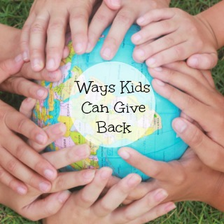 14 Ways Kids Can Give Back