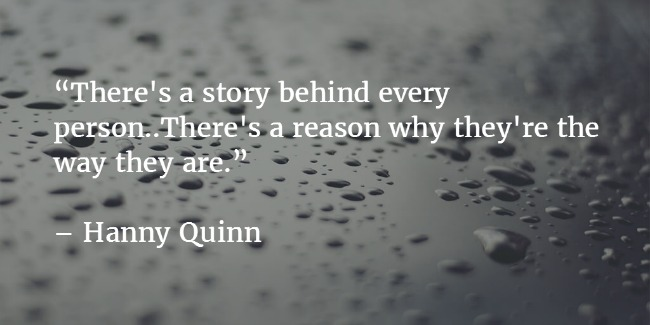 Hanny Quinn Quote