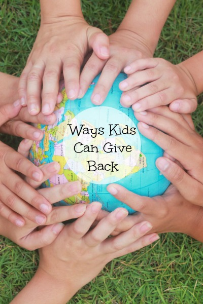 Ways Kids Can Give Back