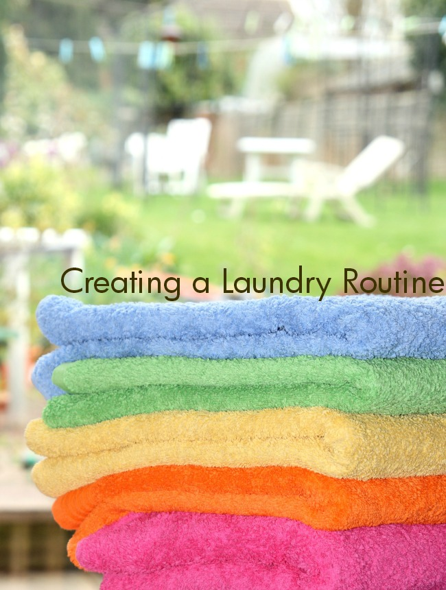 Creating a Laundry Routine #ProtectClothesYouLove