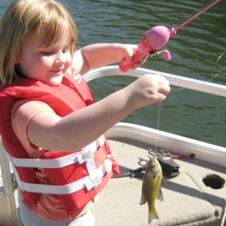 Fishing with Kids #DiscoverBoating #ad