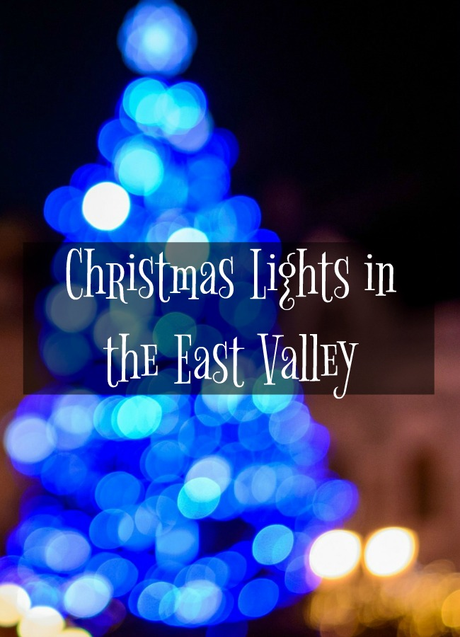 Christmas Lights in the East Valley