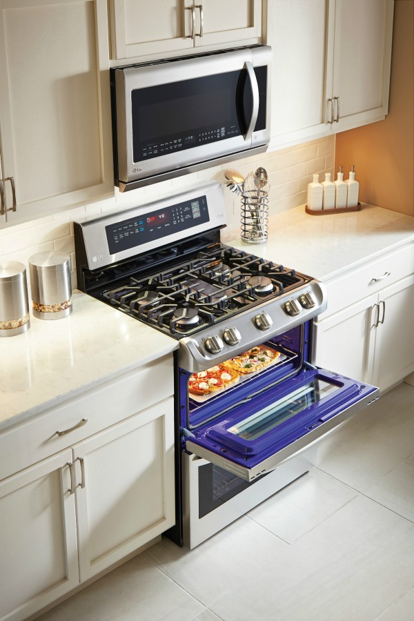 LG's ProBake Double Oven is top on my wish list to help prepare holiday menus easier this holiday season.