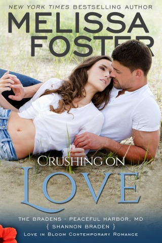 Crushing on Love by Melissa Foster {Book Review} - Adult Romance