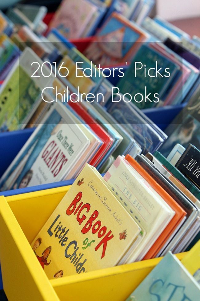 2016 Amazon Editors' Pick Childrens Books - great for year round gifting and reading!