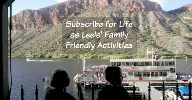 Subscribe for Life as Leels' Family Friendly Activities