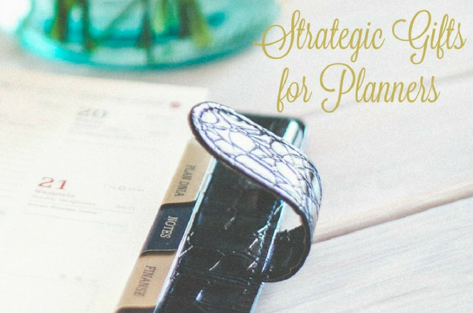 Strategic Gifts for Planners