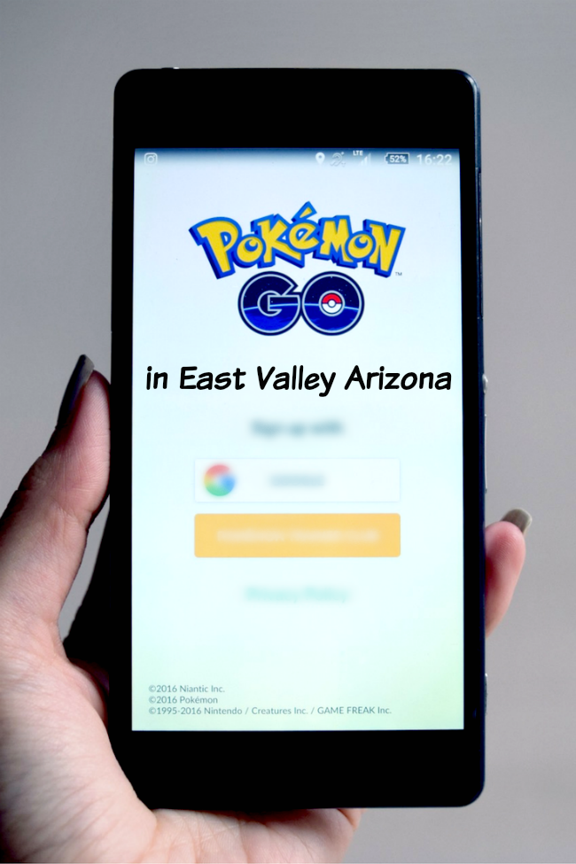 Pokemon Go in East Valley AZ - our favorite places for Pokemon stops and Pokemon hunting!