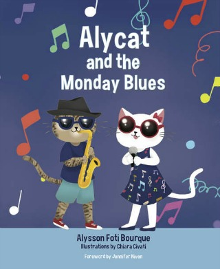 Alycat and the Monday Blues by Alysson Foti Bourque {Children Book Review}