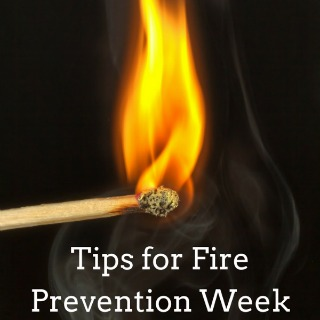 Tips for Fire Prevention Week